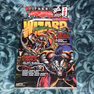 March 1995 Wizard New Sealed collectors edition